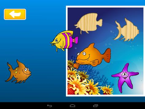 Kids Sea Life Puzzle apk screenshot