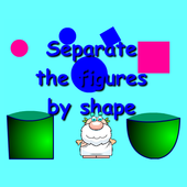 Separate by shape icon