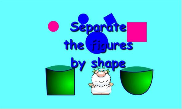 Separate by shape poster