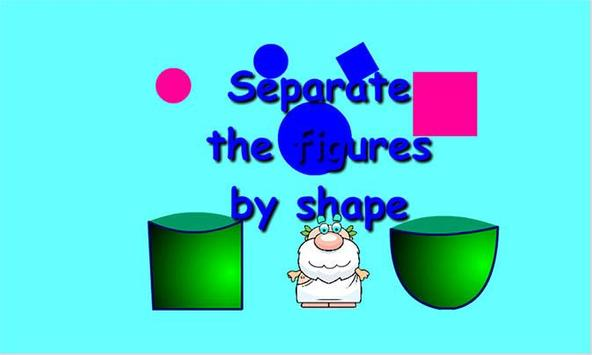 Separate by shape screenshot 1
