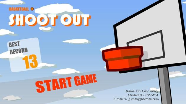 Basketball Shoot Out poster