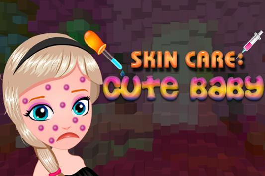 Skin Care : Cute Baby poster