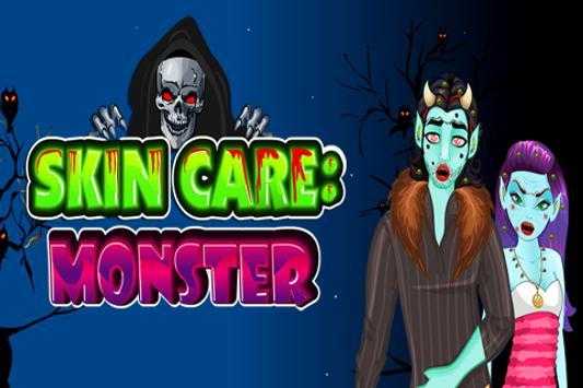 Skin Care : Monster poster