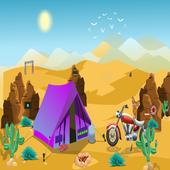 Smiley Desert Escape icon