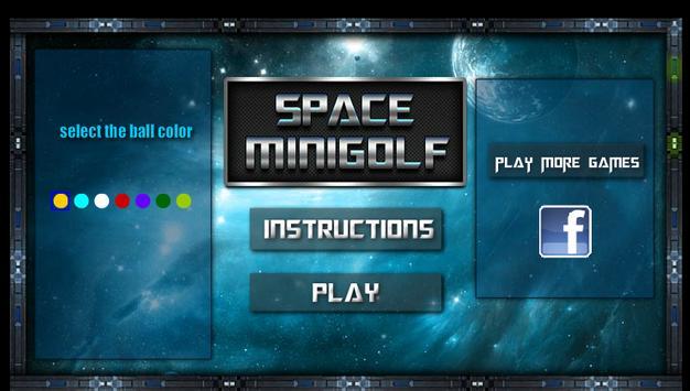 SPACE GOLF apk screenshot
