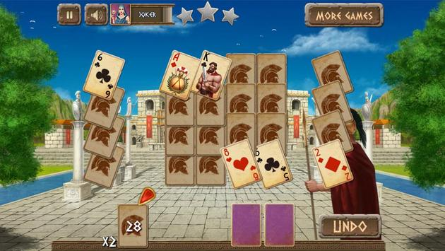 Spartan Solitaire Free apk screenshot
