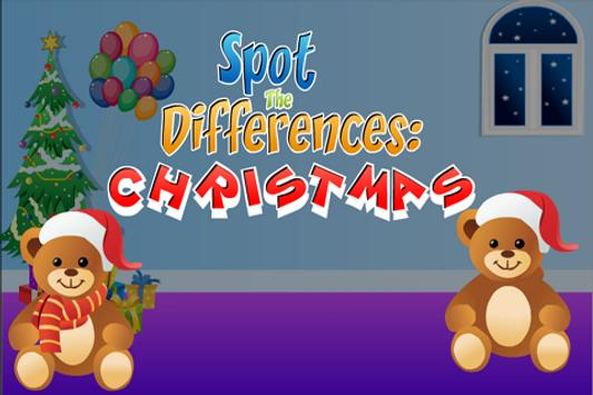 Spot The Differences:Christmas poster