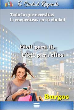 Tu Ciudad Responde Burgos poster