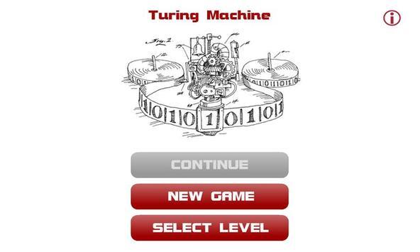 Turing Machine poster