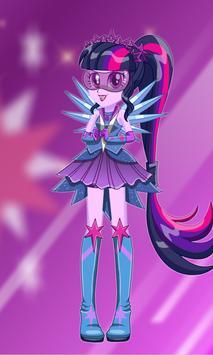 Dress Up Twilight Sparkle poster