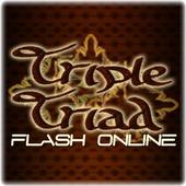 Triple Triad Flash Online icon
