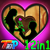 Free New Escape Games 043 - Valentines Escape 2018 icon