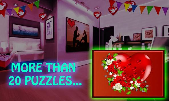 Free New Escape Games 043 - Valentines Escape 2018 screenshot 2