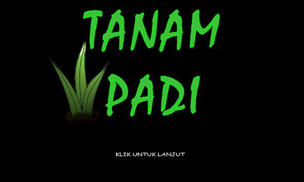 Tanam Padi poster