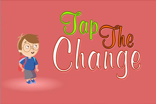 Tap the Change poster