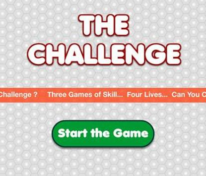 The Challenge Puzzle Game poster