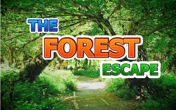 THE FOREST ESCAPE poster