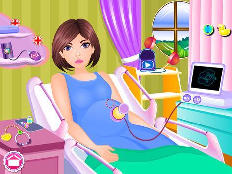 Newborn twins girls games screenshot 11