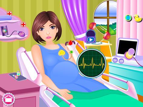 Newborn twins girls games screenshot 1
