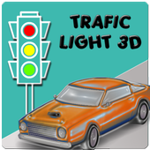 Traffic Light 3D icon