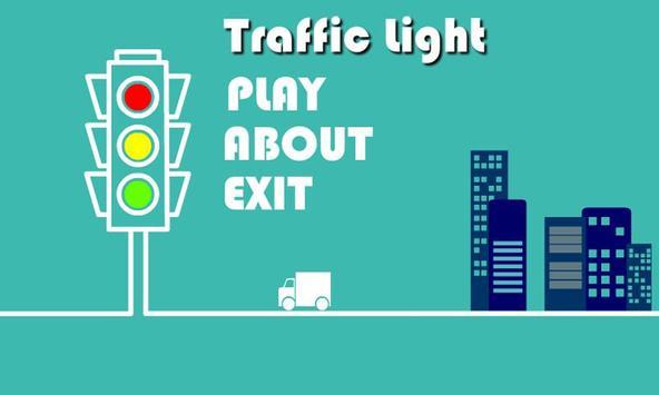 Traffic Light 3D poster