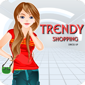 Trendy Shopping Dress Up icon