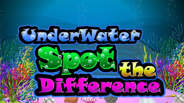 Underwater Spot the Difference apk screenshot