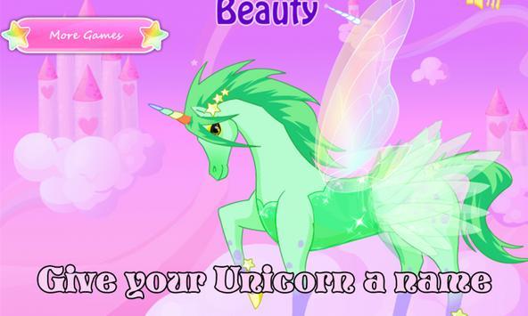 Unicorn Dress up - Girl Game screenshot 2
