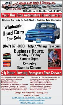 Village Auto Body >> Village Auto Body Towing Inc For Android Apk Download