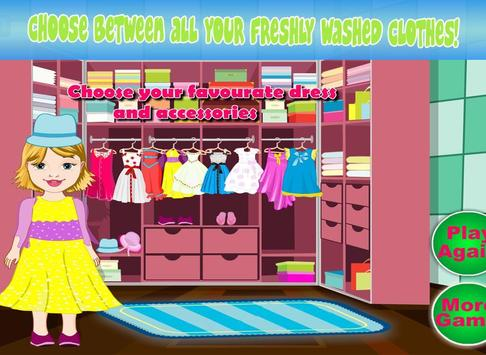 Baby Bella Washing Clothes screenshot 11