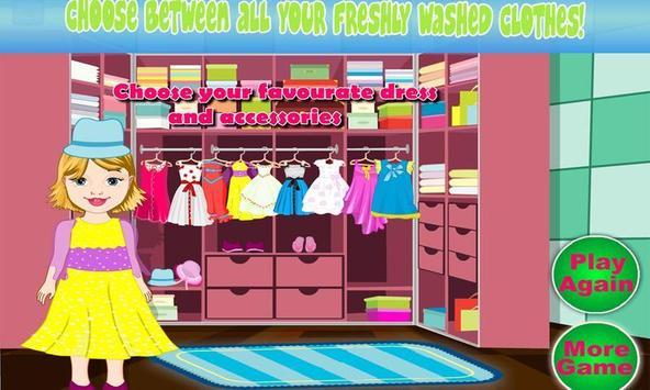 Baby Bella Washing Clothes screenshot 3