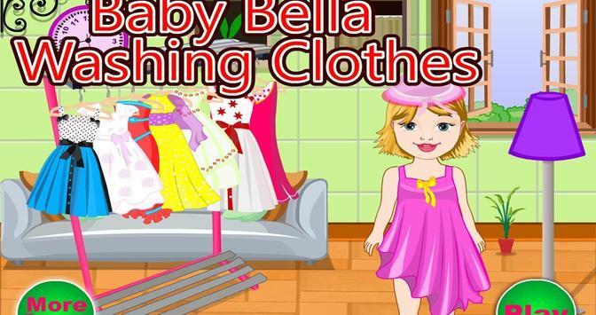 Baby Bella Washing Clothes screenshot 4