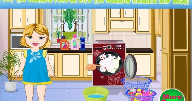 Baby Bella Washing Clothes screenshot 6