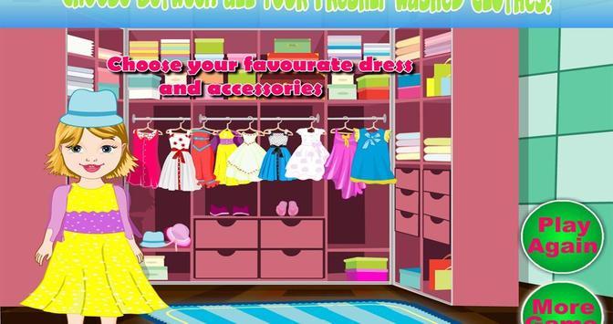 Baby Bella Washing Clothes screenshot 7
