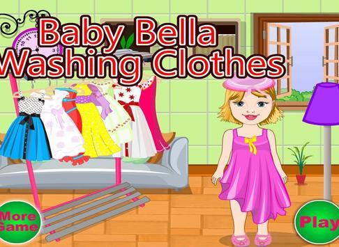 Baby Bella Washing Clothes screenshot 8