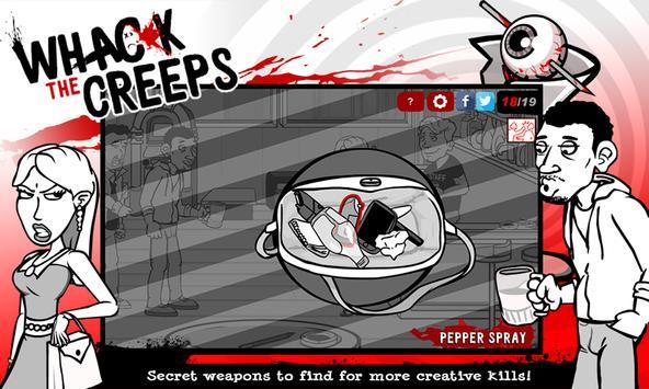 Whack the Creeps: Bar Brawl apk screenshot