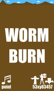 Worm Burn apk screenshot