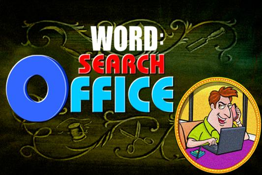 Word Search : Office poster