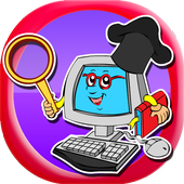 Word Search : Computer icon