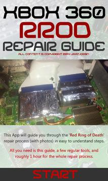 RROD Repair Guide for Xbox 360 poster