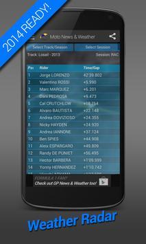 Moto News & Weather '17 MOTOGP screenshot 5
