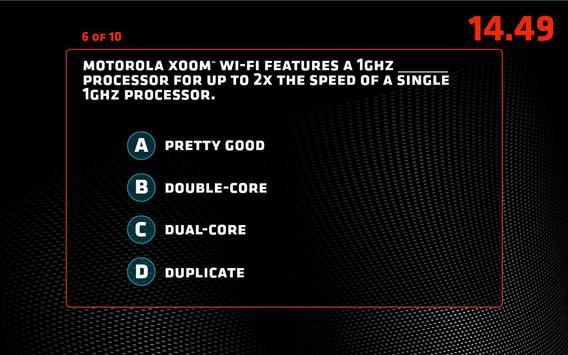 Motorola Xoom™ Quiz apk screenshot