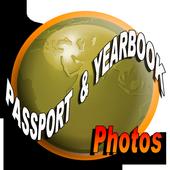 Passport Photo Yearbook Photo icon