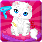 Cat Caring and Makeover icon