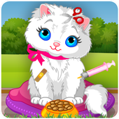 My Cat Pet - Animal Hospital Veterinarian Games icon