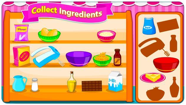 Juegos de cocina - Sweet Cookies captura de pantalla 6