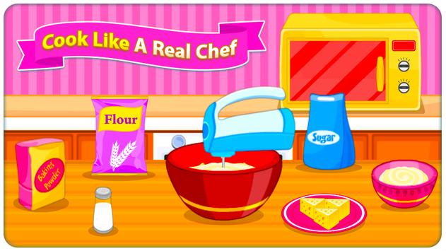 Juegos de cocina - Sweet Cookies captura de pantalla 7