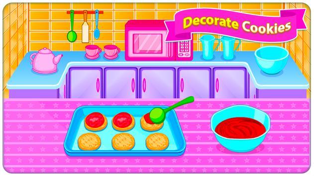 Juegos de cocina - Sweet Cookies captura de pantalla 10