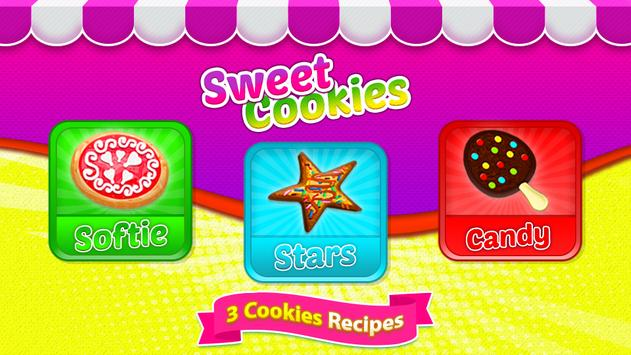 Juegos de cocina - Sweet Cookies captura de pantalla 16