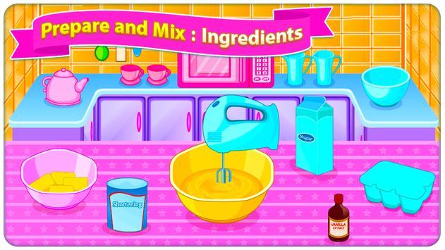 Juegos de cocina - Sweet Cookies captura de pantalla 1
